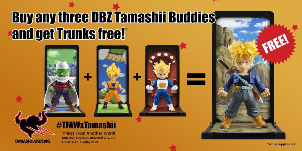 Tamashii Buddies
