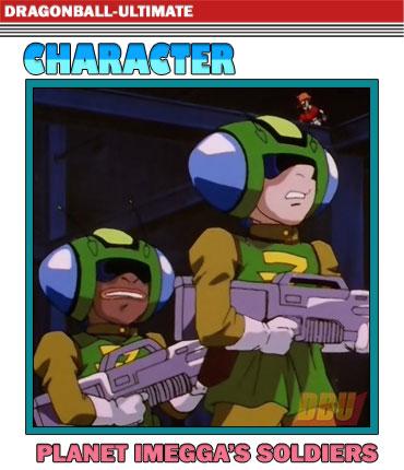 Soldats de la planète Imegga