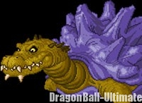 Le crocodile géant dans DBGT Transformation