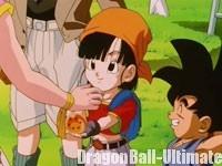 Leine donne son Dragon Ball à Pan