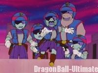 Les policiers à la poursuite de Gokū