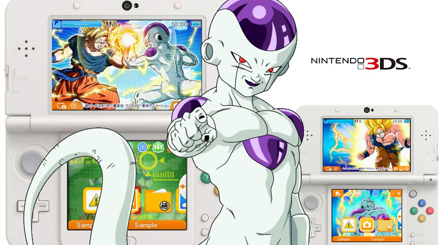 Theme Dragon Ball Z for Nintendo 3DS