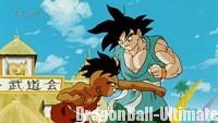 Le combat fait rage entre Gokū et Uub