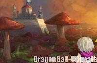 Le château dans Dragon Ball Online