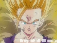 Gohan devient un SSJ2, dans l'anime