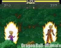 Son Gohan Super Saiyan 2 dans Dragon Ball Z : Super Butōden 2