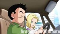 Kuririn et N°18, dans les embouteillages
