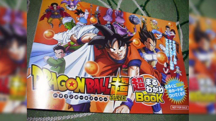 Dragon Ball Super Maruwakari Book