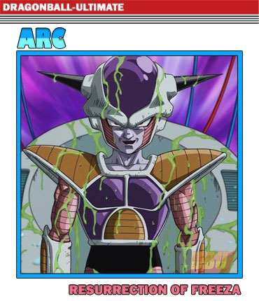 Arc Résurrection de Freeza