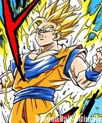 Gokū se transforme en Super Saiyan 2