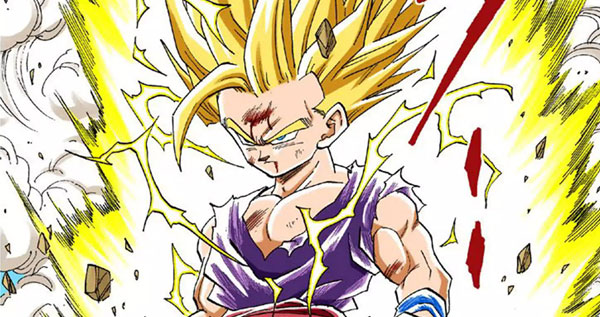 Super Saiyan 2 Dragon Ball Ultimate