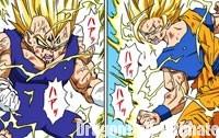 Le combat des Super Saiyans 2