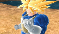 """Super Trunks"" dans Raging Blast 2"