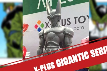 X-Plus - Gigantic Series : Cell et Majin Buu
