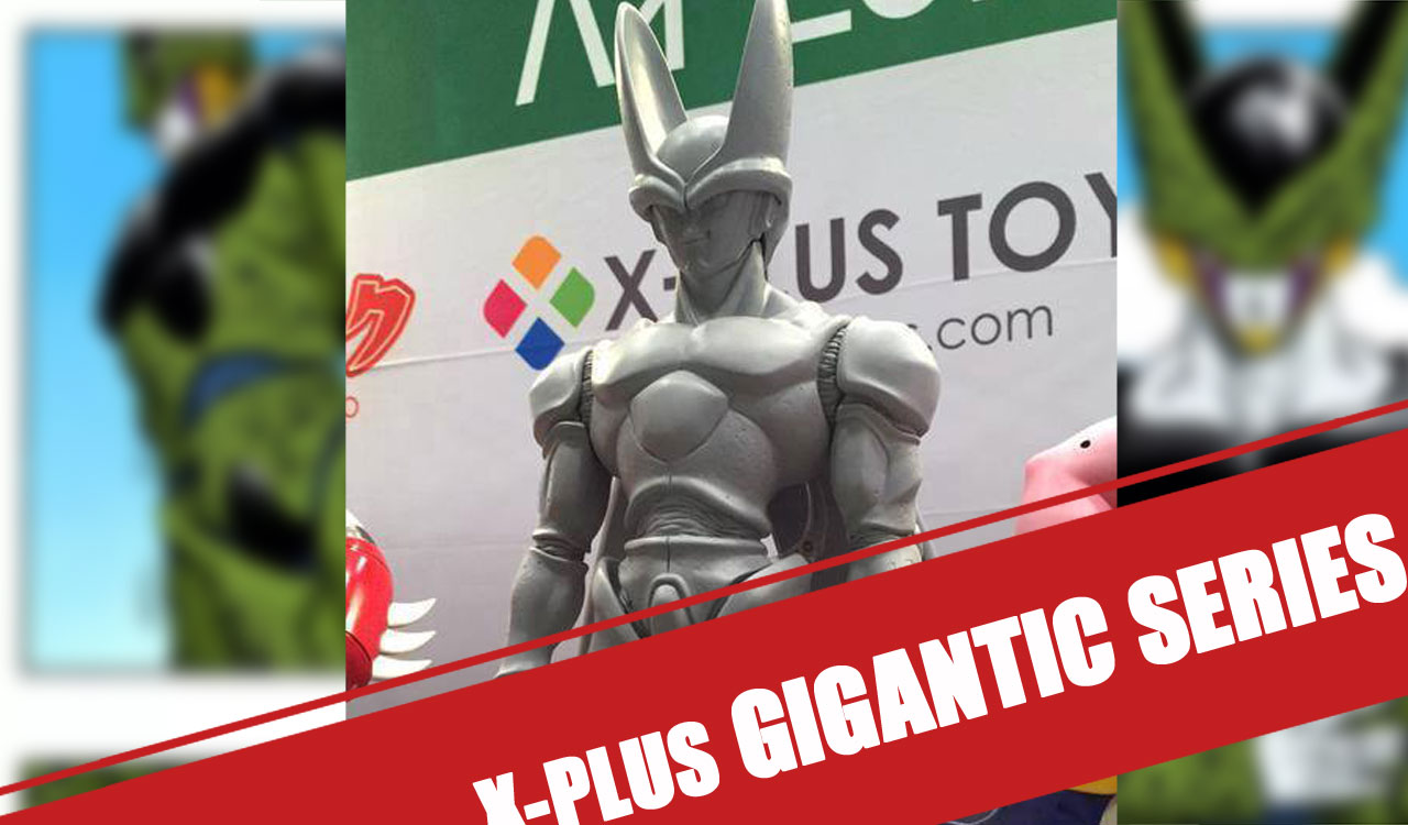 X-Plus - Gigantic Series : Cell et Majin Buu