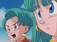 Bra et Bulma suivent Chichi et Videl
