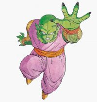 Une illustration de Piccolo par Toriyama