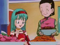 Bra, invitée chez Son Gokū et Chichi