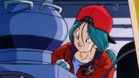 Bulma travaillant sur la Time Machine