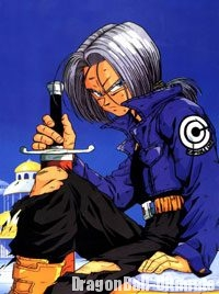 Trunks du futur, avec le design de l'anime