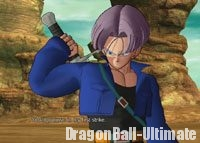 Trunks du futur dans Raging Blast 2