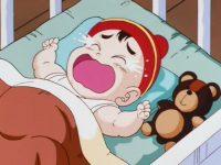 Gohan, qui venait à peine de naître