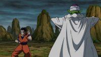 Gohan s'entraînant avec Piccolo