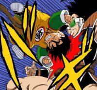 Gohan attaque furieusement Raditz