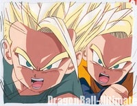 Celluloïd de Trunks et Son Goten