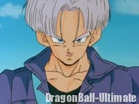 Trunks, impressionné par Son Gokū