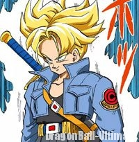 Trunks se change en Super Saiyan