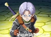 Xeno Trunks dans l'intro de DB : Xenoverse