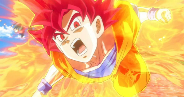 Saiyan Surpassant Dieu Dragon Ball Ultimate