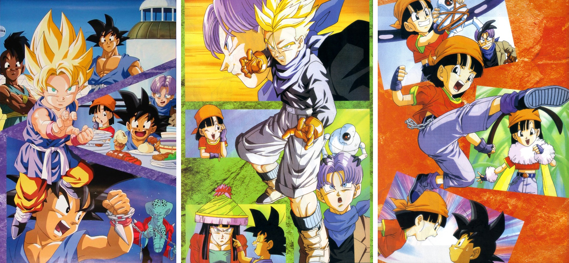 Calendrier 1997 Dragon Ball GT