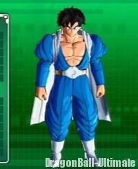 Le costume de Dābura dans DB : Xenoverse
