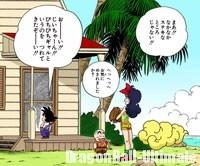 Gokū et Kuririn arrivent avec Lunch