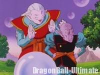 Le vieux Kaiōshin mécontent de l'utilisation répétée des Dragon Balls