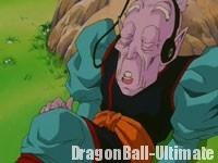 Le vieux Kaiōshin écoute l'Opening de la série TV Dragon Ball GT