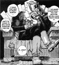 Satan, dans le manga SandLand