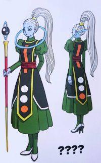 Character Design de Vados par Toriyama