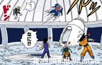 Babidi ramène tout le monde dans le vaisseau