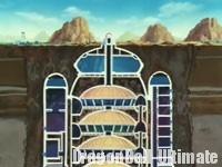 Le plan du vaisseau spatial, dans l'anime