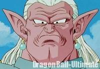 Le visage de Kibito, dans la série TV