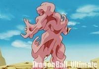 L'absorption par Majin Boo, dans l'anime