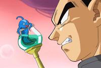 Le poisson avait prédit l'arrivée de Gokū