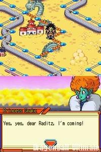 La Princesse Serpent s'intéresse à Raditz