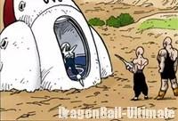 Le vaisseau spatial est caché sous terre