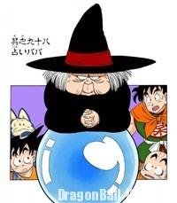 Baba la voyante dans le manga