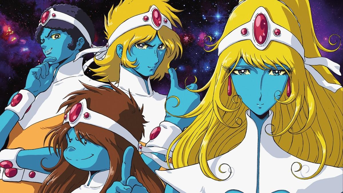 Les personnages d'Interstella 5555