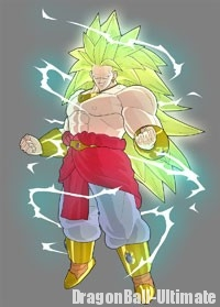 Broly Super Saiyan 3 dans Raging Blast